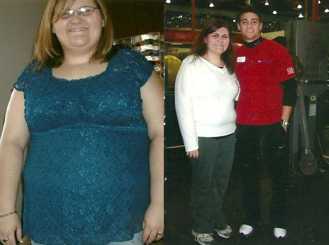 Great success story! Read before and after fitness transformation stories from women and men who hit weight loss goals and got THAT BODY with training and meal prep. Find inspiration, motivation, and workout tips | Gerri Kept Her New Years Resolution and Lost Nearly 100 Pounds