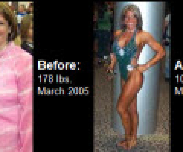 Get motivated and see how Heather Bear struggled and succeeded to lose 70 lbs of fat over the course of a year!