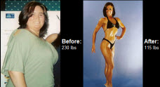 Great success story! Read before and after fitness transformation stories from women and men who hit weight loss goals and got THAT BODY with training and meal prep. Find inspiration, motivation, and workout tips | Read on to learn how Jennifer O Conner lost 115 lbs and began competing...