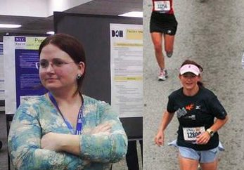 Jennifer Sabatier, 34, of Atlanta loses 80 pounds