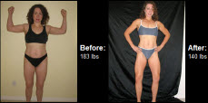 Great success story! Read before and after fitness transformation stories from women and men who hit weight loss goals and got THAT BODY with training and meal prep. Find inspiration, motivation, and workout tips | See how Jnea Muller managed to lose over 40 lbs. and regain the energy she had.
