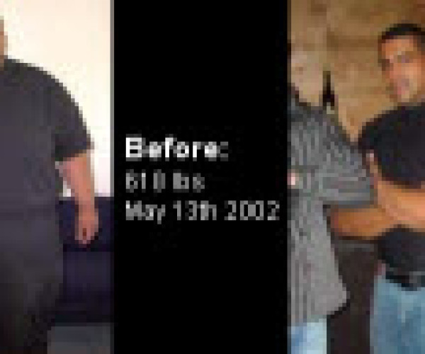 John lost 370 pounds