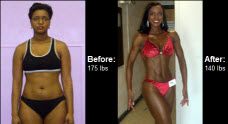 Great success story! Read before and after fitness transformation stories from women and men who hit weight loss goals and got THAT BODY with training and meal prep. Find inspiration, motivation, and workout tips | Joy Randolphs lost 35 lbs and began competing. Learn more here!