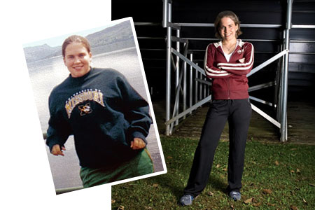 Great success story! Read before and after fitness transformation stories from women and men who hit weight loss goals and got THAT BODY with training and meal prep. Find inspiration, motivation, and workout tips | Weight Loss Success: Autumn Mastroianni