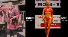 Great success story! Read before and after fitness transformation stories from women and men who hit weight loss goals and got THAT BODY with training and meal prep. Find inspiration, motivation, and workout tips | Kelly Harsha body trsnsformation, read on to learn how she lost 140 pounds!