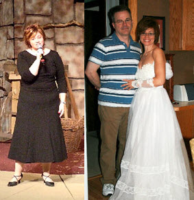 Great success story! Read before and after fitness transformation stories from women and men who hit weight loss goals and got THAT BODY with training and meal prep. Find inspiration, motivation, and workout tips | I Can Fit My Wedding Dress Again!
