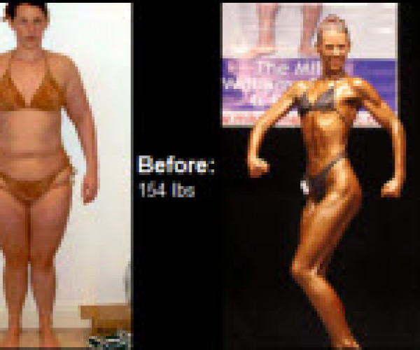Read on to learn how Laura Johnstone lost 49 pounds and made it to the competition stage!