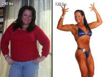 Leslee Cook Weight Loss Story