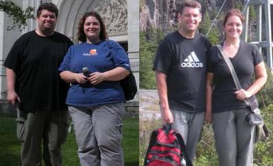 Lesley and Mike Williams lost 275 pounds together
