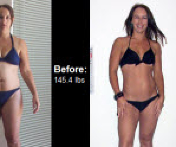 Lisa decided to enter a 12 week challenge to motivate herself to lose the weight.