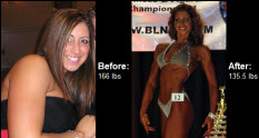 Great success story! Read before and after fitness transformation stories from women and men who hit weight loss goals and got THAT BODY with training and meal prep. Find inspiration, motivation, and workout tips | Read on to find out how Melanie turned her life around and befan competing.