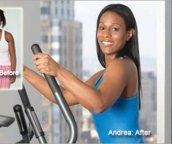 """I got my body back!"" Andrea lost 50 pounds."
