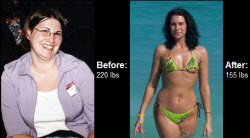 Great success story! Read before and after fitness transformation stories from women and men who hit weight loss goals and got THAT BODY with training and meal prep. Find inspiration, motivation, and workout tips | Read on to learn how Nancy dropped 65 pounds of fat!