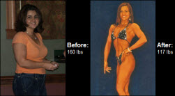 Learn how Pamela lost 34 lbs. and now competes on stage!