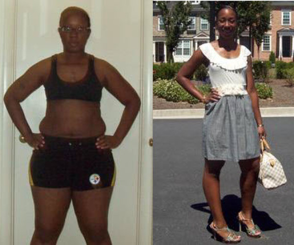 Rachel C. Simmons of Mableton lost 46 pounds