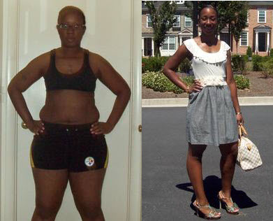 Great success story! Read before and after fitness transformation stories from women and men who hit weight loss goals and got THAT BODY with training and meal prep. Find inspiration, motivation, and workout tips | Rachel C. Simmons of Mableton lost 46 pounds