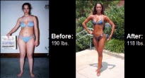 Read on and see what an amazing transformation Regina managed to get down to 118 lbs!