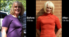 Robyn lost 44 pounds! See my before and after weight loss pictures, and read amazing weight loss success stories from real women and their best weight loss diet plans and programs. Motivation to lose weight with walking and inspiration from before and after weightloss pics and photos.