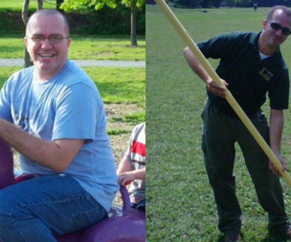 Weight loss success story: Ryan Stewart