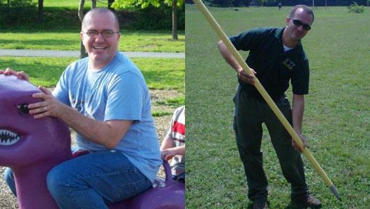 Weight loss success story: Ryan Stewart
