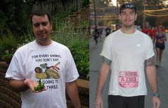 Great success story! Read before and after fitness transformation stories from women and men who hit weight loss goals and got THAT BODY with training and meal prep. Find inspiration, motivation, and workout tips | Shawn Gorrell of Atlanta lost 55 pounds