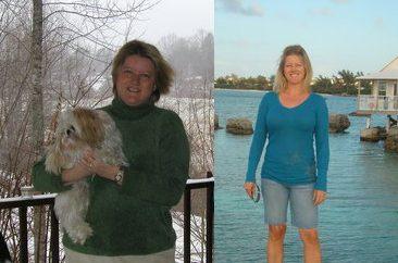 Sonya Moste, 41, of Fayetteville lost 60 pounds
