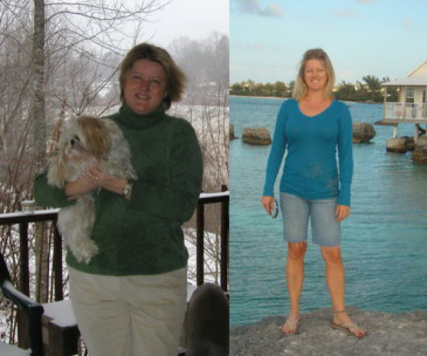 Sonya Moste, 41, of Fayetteville lost 60 pounds