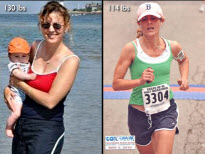 Stacy Lost 16 Lbs, Trimmed Her Body Fat, And Ran In A Half Marathon!