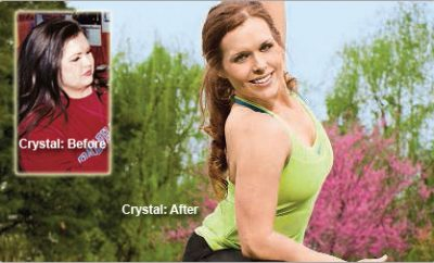 """I refused to give up!"" Crystal lost 86 pounds."