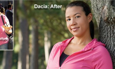 "Weight Loss Success Story: ""I'm slimmer than I was in High School!"" Dacia Lost 45 Pounds"