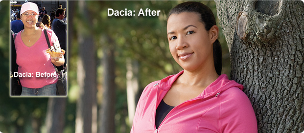 Great success story! Read before and after fitness transformation stories from women and men who hit weight loss goals and got THAT BODY with training and meal prep. Find inspiration, motivation, and workout tips | Weight Loss Success Story: Im slimmer than I was in High School! Dacia Lost 45 Pounds
