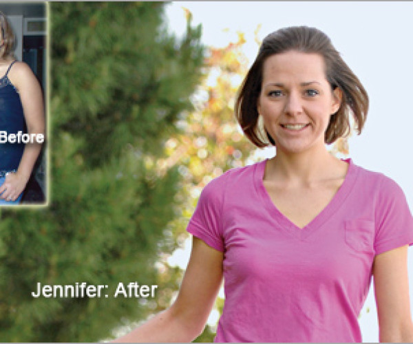 """I finally found my inner strength."" Jennifer's Weight Loss Totaled 84 Pounds"