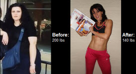 Tatyana decided to get in shape and get healthy. Learn how she lost over 60 lbs right here.