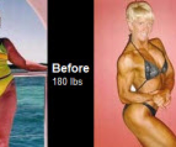 Teresa's body transformation, lose almost 50lbs and a whole lot of body fat. Check it out!