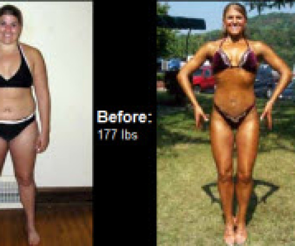 Learn how Tosha lost 45 lbs. during this transformation with the help of her sister and others right here!