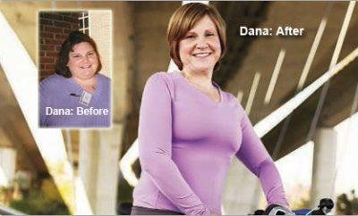 """""""I Dropped Half My Size."""" Dana lost 190 Pounds."""