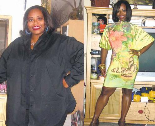 Chaunda Walker Walls, 40, of Lawrenceville loses 101 pounds