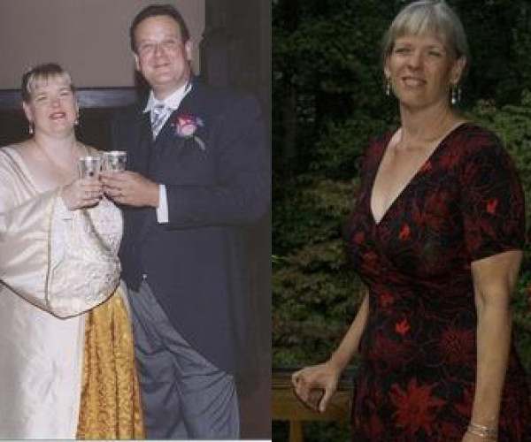 Kathy Kinev, 53, of Atlanta loses 143 pounds