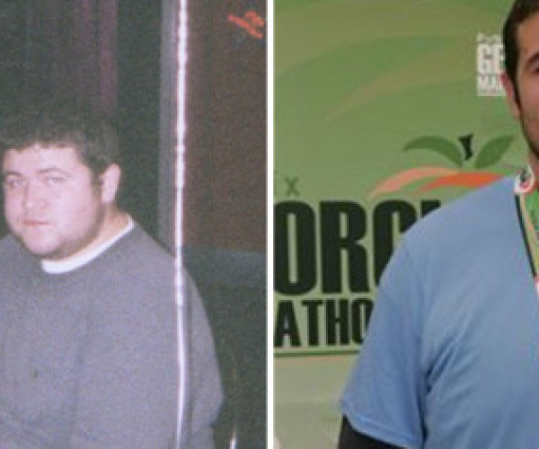 Ben Quit Drinking Soda And Lost 170 Pounds