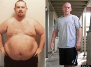 Great success story! Read before and after fitness transformation stories from women and men who hit weight loss goals and got THAT BODY with training and meal prep. Find inspiration, motivation, and workout tips | Brian Lost 128 Pounds Through At Home Workouts