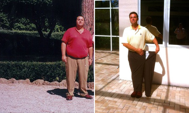 Great success story! Read before and after fitness transformation stories from women and men who hit weight loss goals and got THAT BODY with training and meal prep. Find inspiration, motivation, and workout tips | Fred Conquered Emotional Eating And Lost 150 Pounds