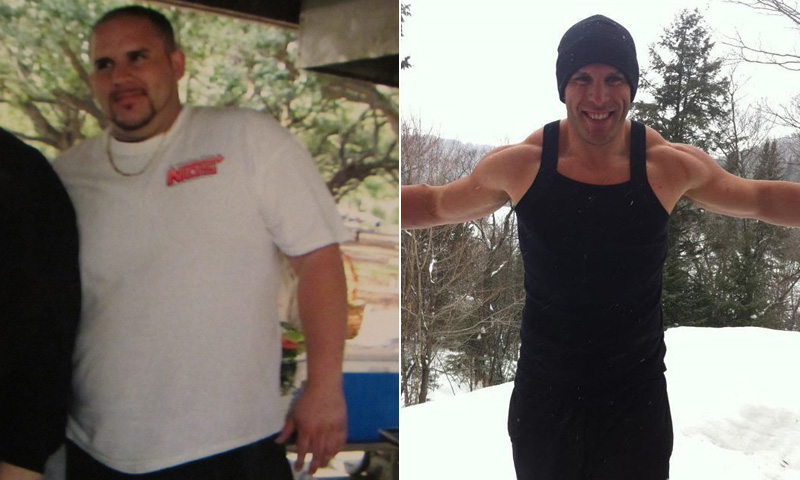 Great success story! Read before and after fitness transformation stories from women and men who hit weight loss goals and got THAT BODY with training and meal prep. Find inspiration, motivation, and workout tips   Weight Loss Success: Giuseppe Mangiafico Overhauled His Eating Habits And Lost 150 Pounds