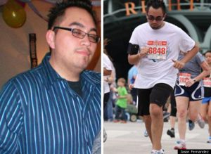 I lost 95 pounds! Read my weight loss success story and see my before and after weight loss pictures at the website The Weigh We Were. Hundreds of success stories, articles and photos of weight loss diet plans for men, tips for how to lose weight for men. Build muscle and lose belly fat with healthy male weight loss transformation pics for inspiration!