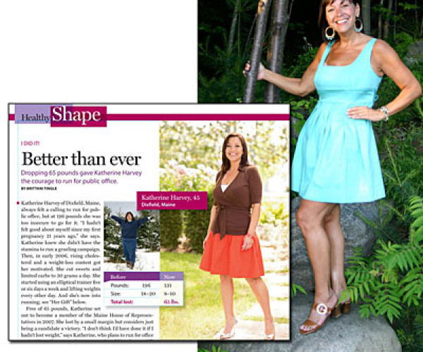 Weight-Loss Success Stories, How Katherine Harvey Loss 71 Pounds