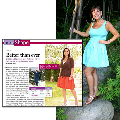 Great success story! Read before and after fitness transformation stories from women and men who hit weight loss goals and got THAT BODY with training and meal prep. Find inspiration, motivation, and workout tips | Weight Loss Success Stories, How Katherine Harvey Loss 71 Pounds