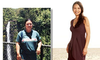 Weight-Loss Success Stories, How Mitchie de Leon Loss 78 Pounds