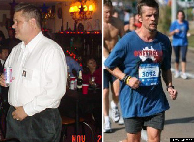 Great success story! Read before and after fitness transformation stories from women and men who hit weight loss goals and got THAT BODY with training and meal prep. Find inspiration, motivation, and workout tips | Troy Lost 68 Pounds And Now Runs Ultra Marathons