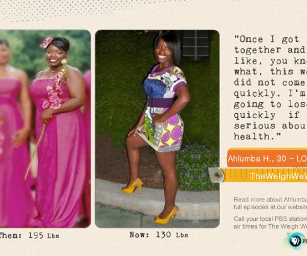 Ahlumba Harris Lost 65 Pounds