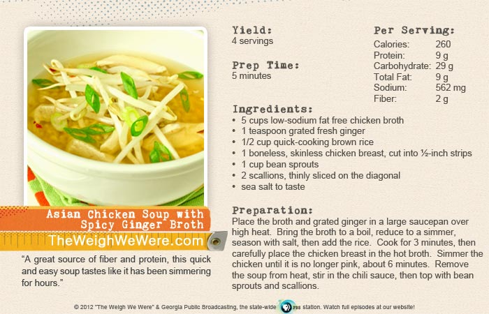 Great success story! Read before and after fitness transformation stories from women and men who hit weight loss goals and got THAT BODY with training and meal prep. Find inspiration, motivation, and workout tips | Asian Chicken Soup with Spicy Ginger Broth