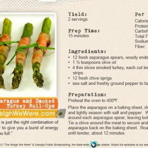 Asparagus and Smoked Turkey Roll-Ups